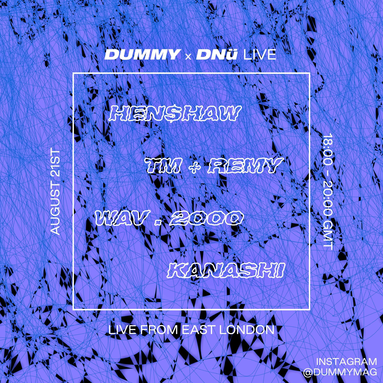 DUMMY x DNü Live